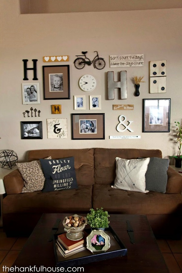 Best Family Picture Wall Decoration Ideas (37)