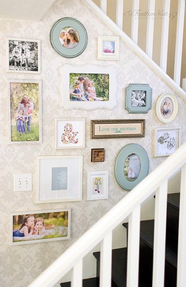 Best Family Picture Wall Decoration Ideas (41)