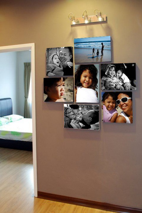 Best Family Picture Wall Decoration Ideas (42)