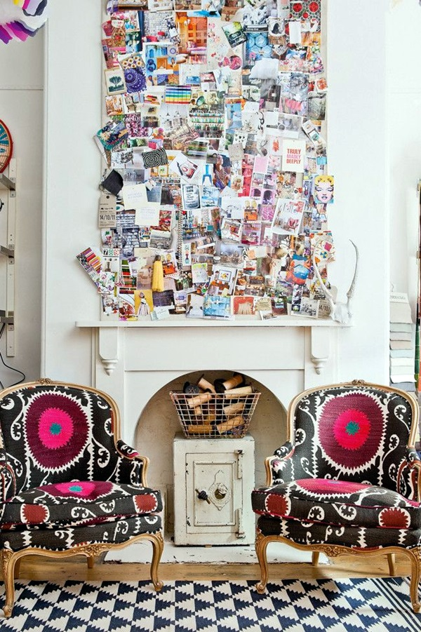 Cool and Inspirational pinboard wall Ideas (1)