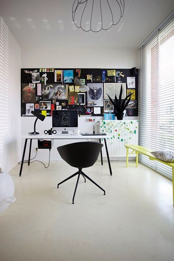 Cool and Inspirational pinboard wall Ideas (11)
