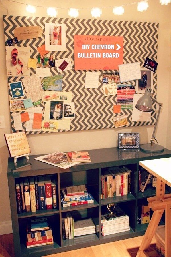 Cool and Inspirational pinboard wall Ideas (13)