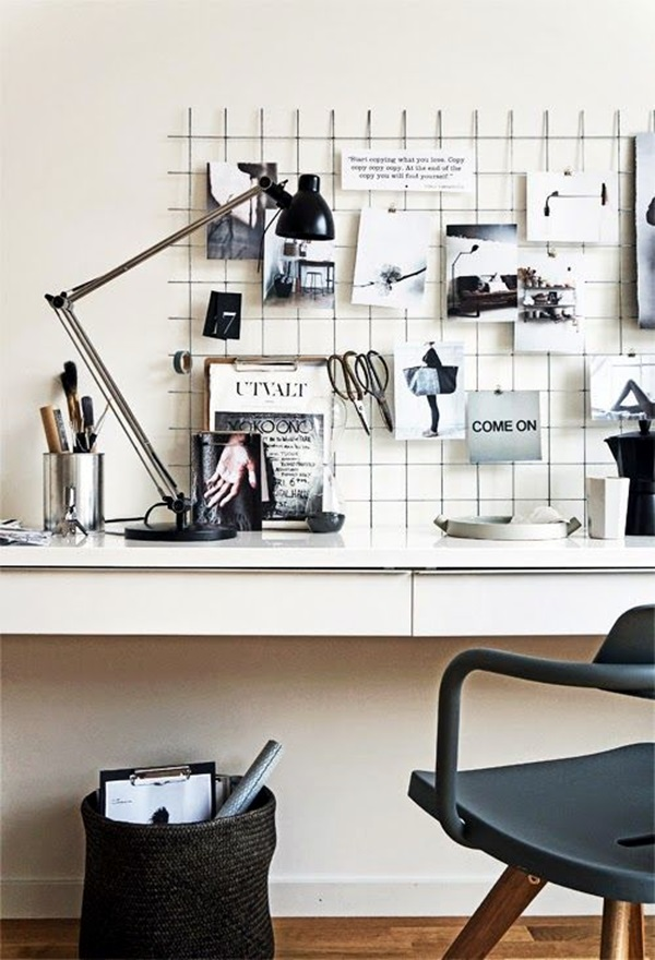 Cool and Inspirational pinboard wall Ideas (14)