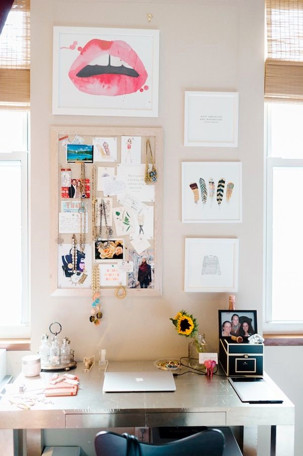 Cool and Inspirational pinboard wall Ideas (16)