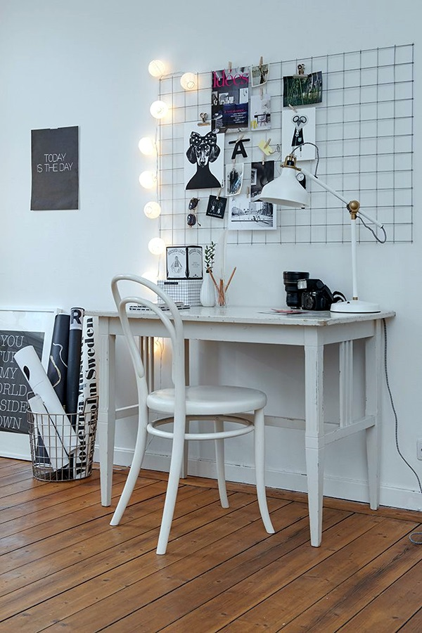 Cool and Inspirational pinboard wall Ideas (2)