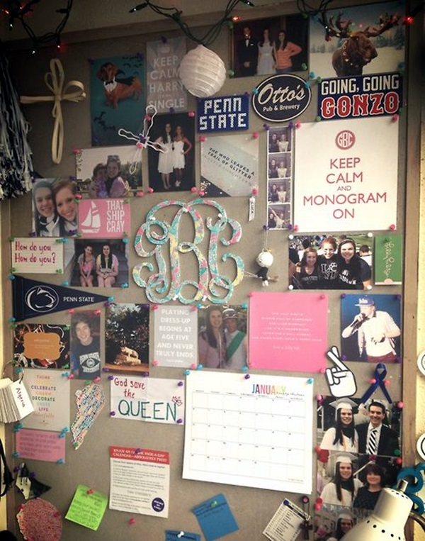 Cool and Inspirational pinboard wall Ideas (22)