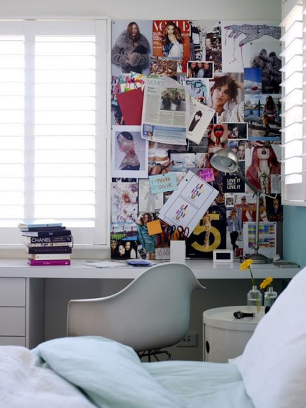 Cool and Inspirational pinboard wall Ideas (26)