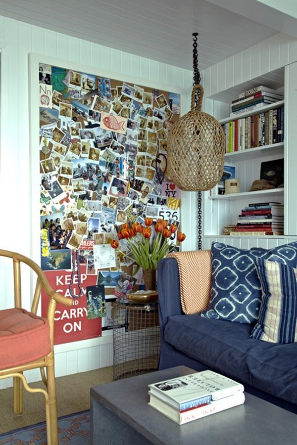 Cool and Inspirational pinboard wall Ideas (27)