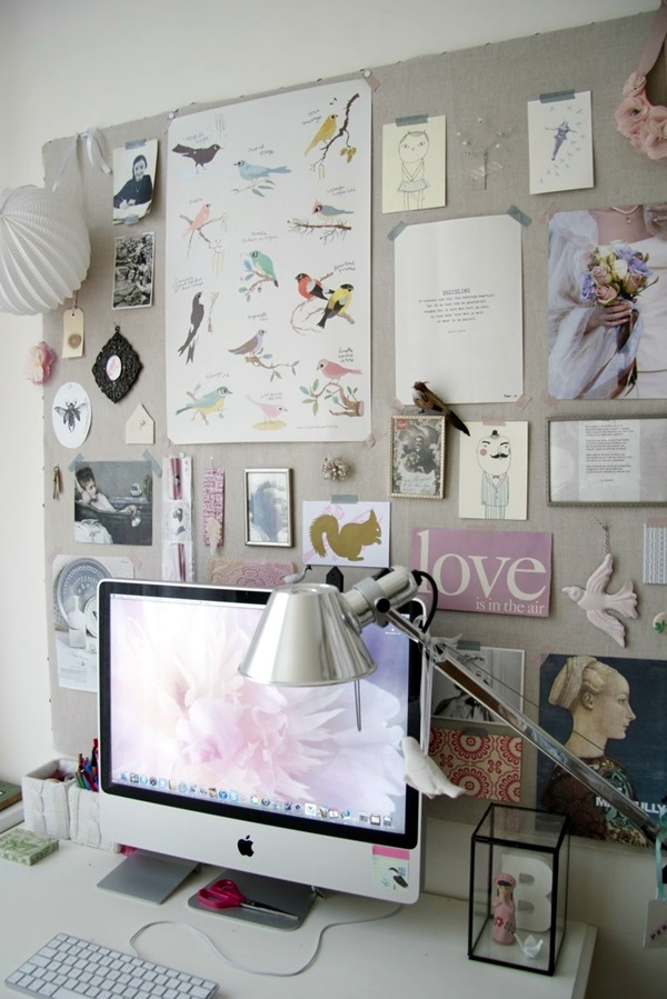 Cool and Inspirational pinboard wall Ideas (38)