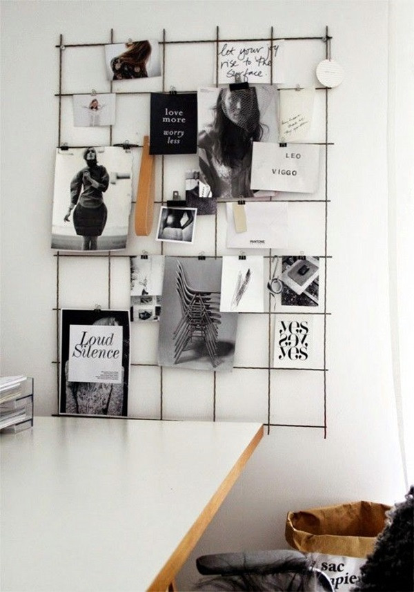 Cool and Inspirational pinboard wall Ideas (40)