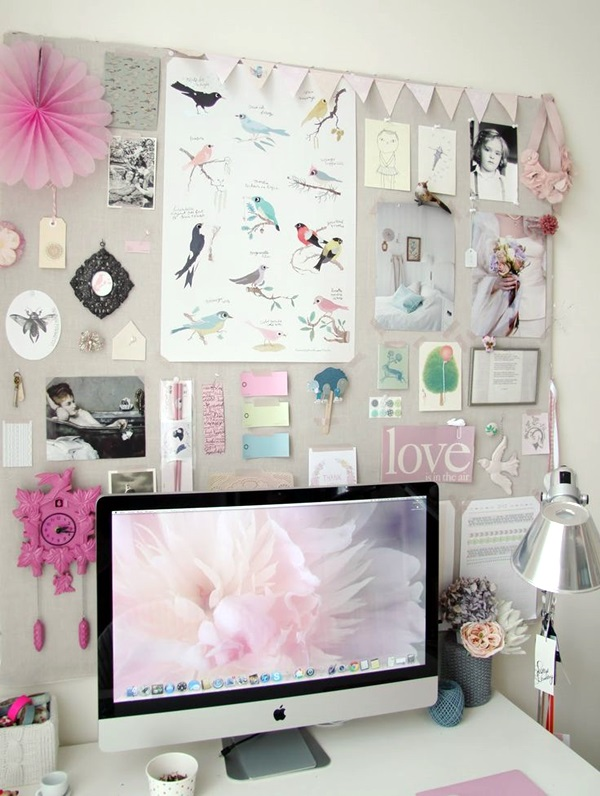 Cool and Inspirational pinboard wall Ideas (41)