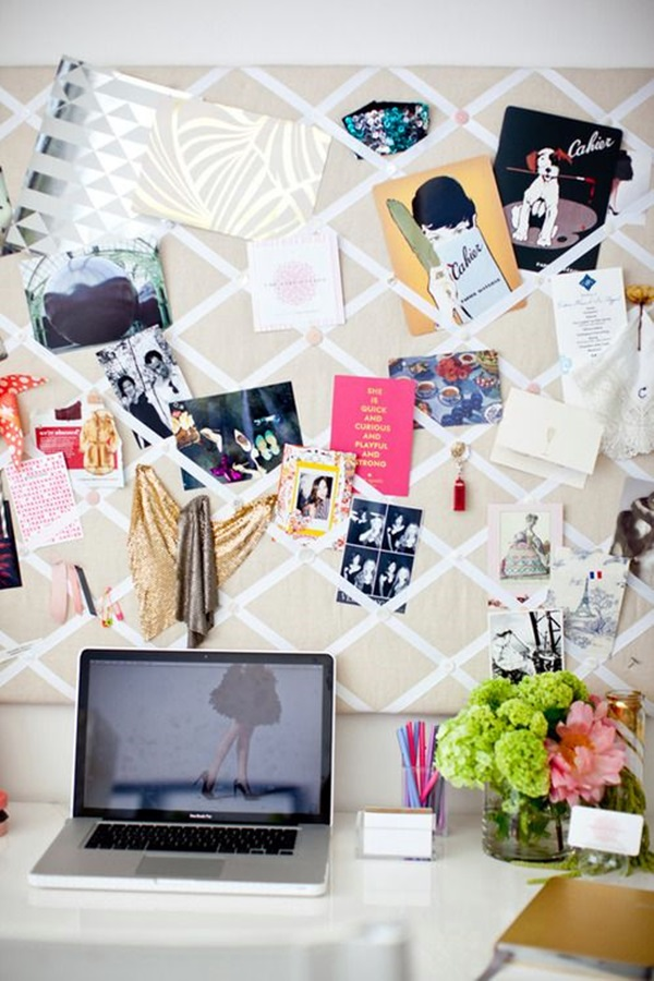 Cool and Inspirational pinboard wall Ideas (48)