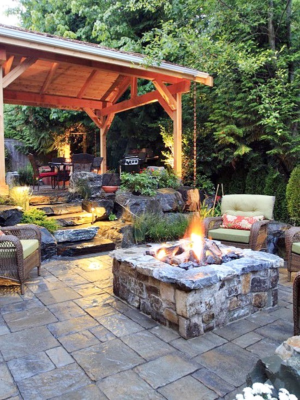 Dreamy backyard escape Ideas For Your Home (37)
