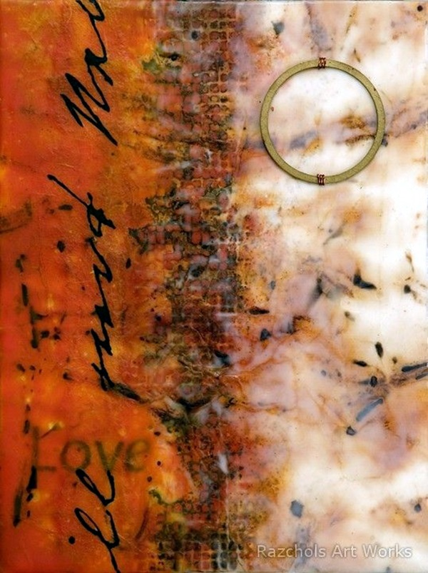 Hot Wax painting Ideas For Learners (45)