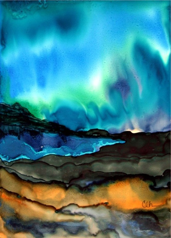 Ink painting Ideas For Inspiration (36)