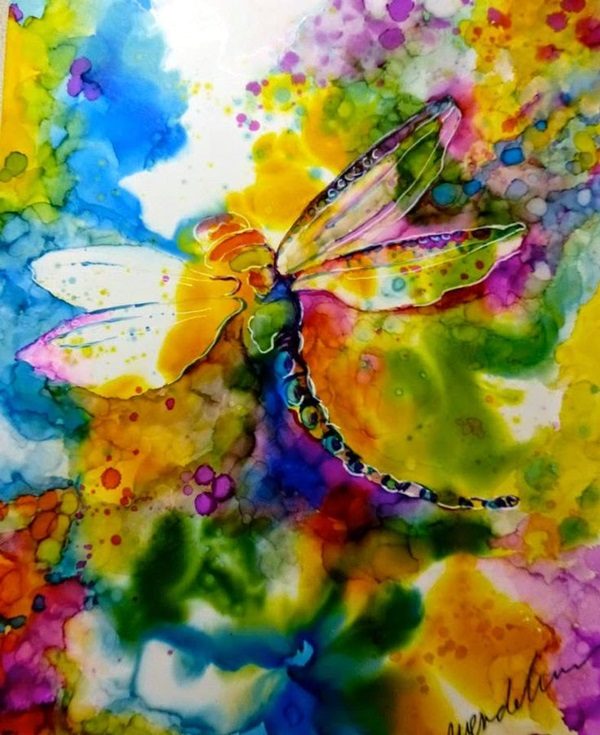 Ink painting Ideas For Inspiration (41)