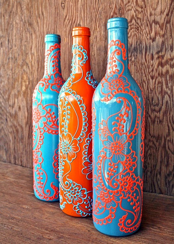 Intelligent Ways to Use Your Old Wine Bottles (11)