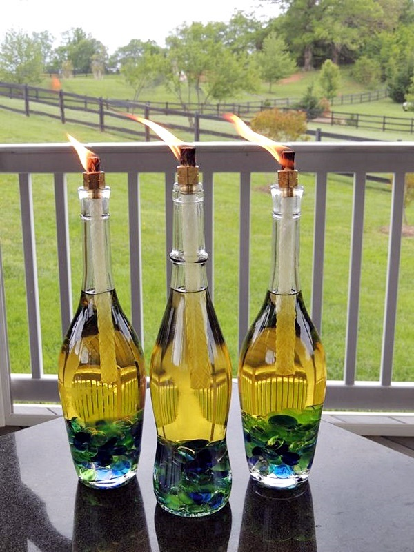 Intelligent Ways to Use Your Old Wine Bottles (16)