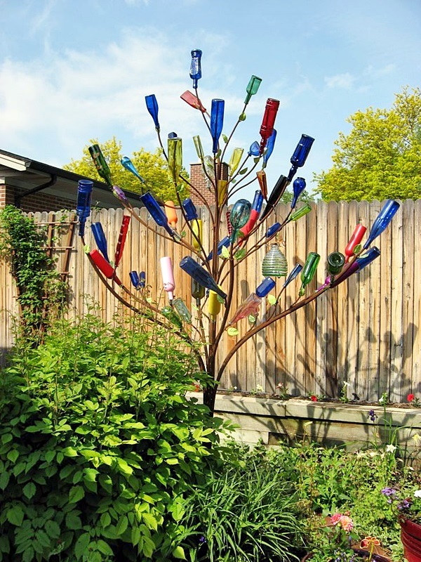 Intelligent Ways to Use Your Old Wine Bottles (18)
