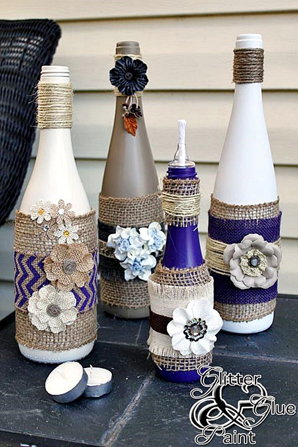 Intelligent Ways to Use Your Old Wine Bottles (23)