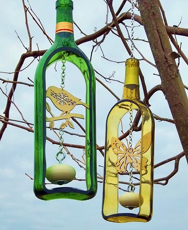 Intelligent Ways to Use Your Old Wine Bottles (26)