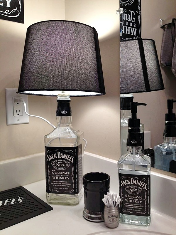 Intelligent Ways to Use Your Old Wine Bottles (30)