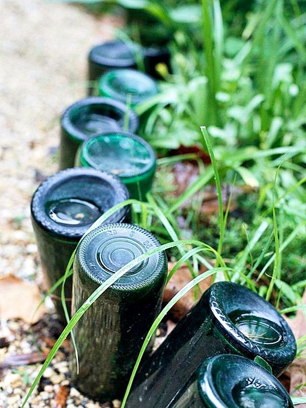 Intelligent Ways to Use Your Old Wine Bottles (37)