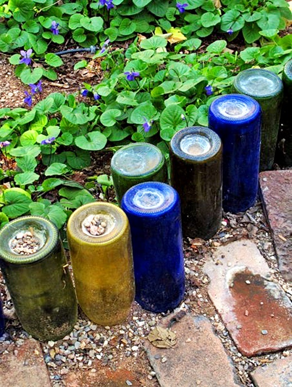 Intelligent Ways to Use Your Old Wine Bottles (39)