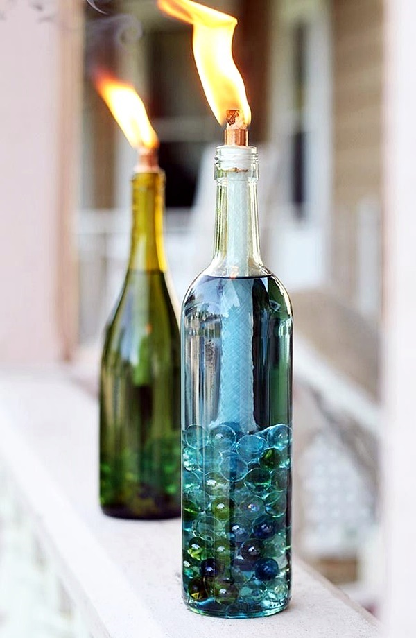 Intelligent Ways to Use Your Old Wine Bottles (4)