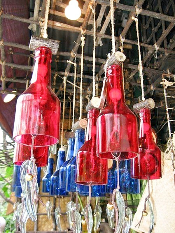 Intelligent Ways to Use Your Old Wine Bottles (41)
