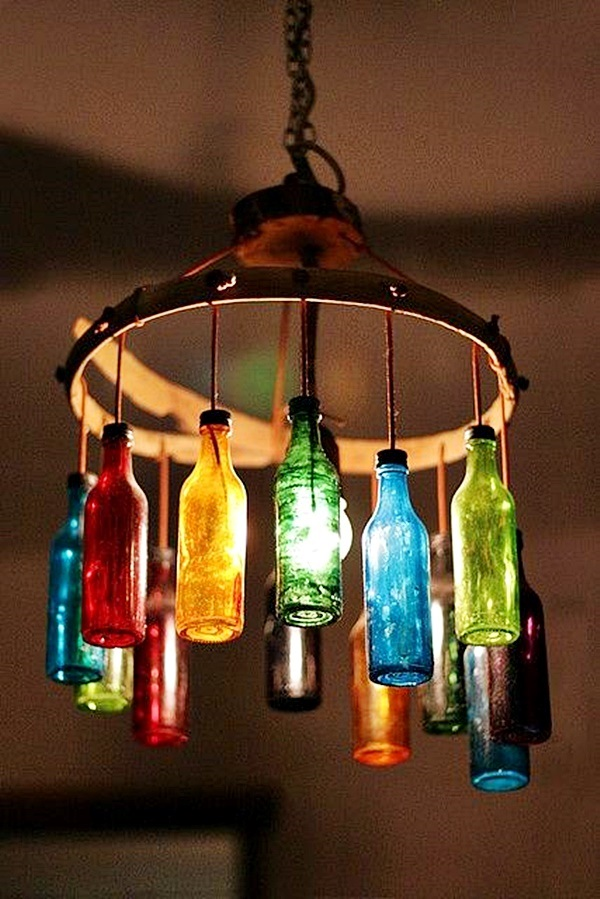 Intelligent Ways to Use Your Old Wine Bottles (44)