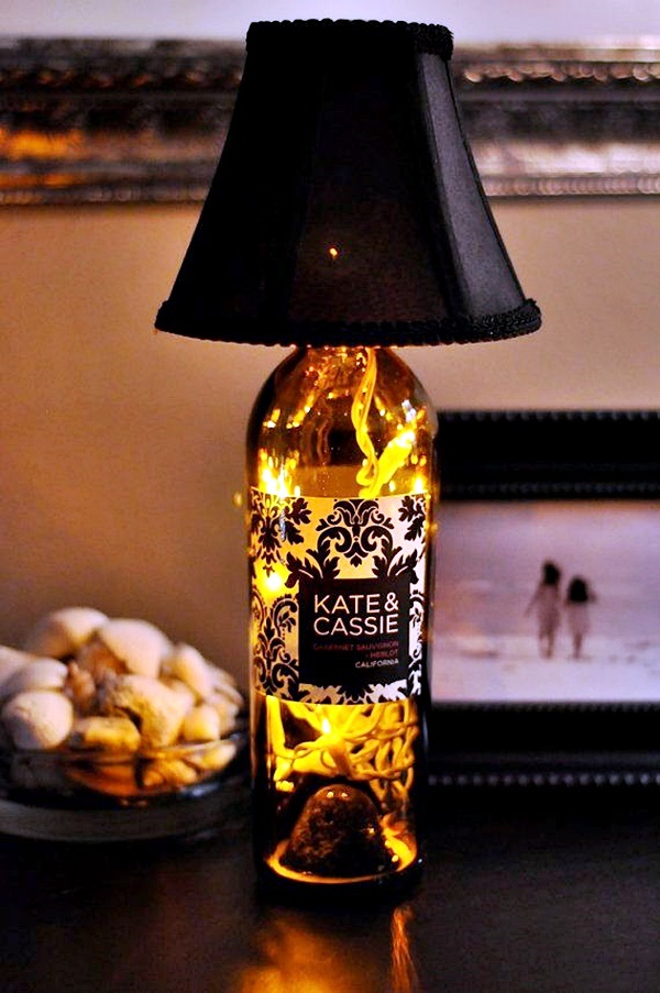 Intelligent Ways to Use Your Old Wine Bottles (6)