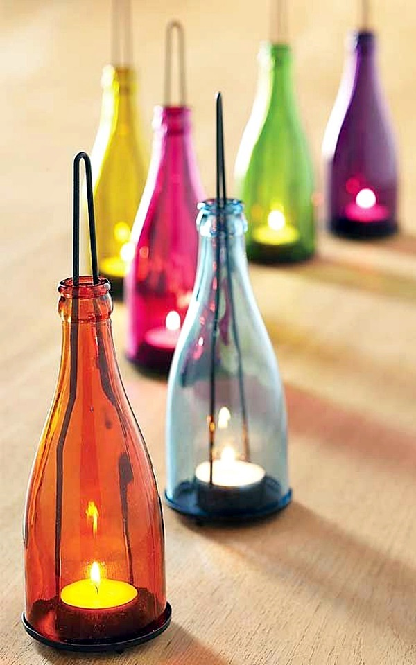 Intelligent Ways to Use Your Old Wine Bottles (8)