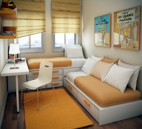 Small Room Decoration Ideas to Make it Work For You (18)
