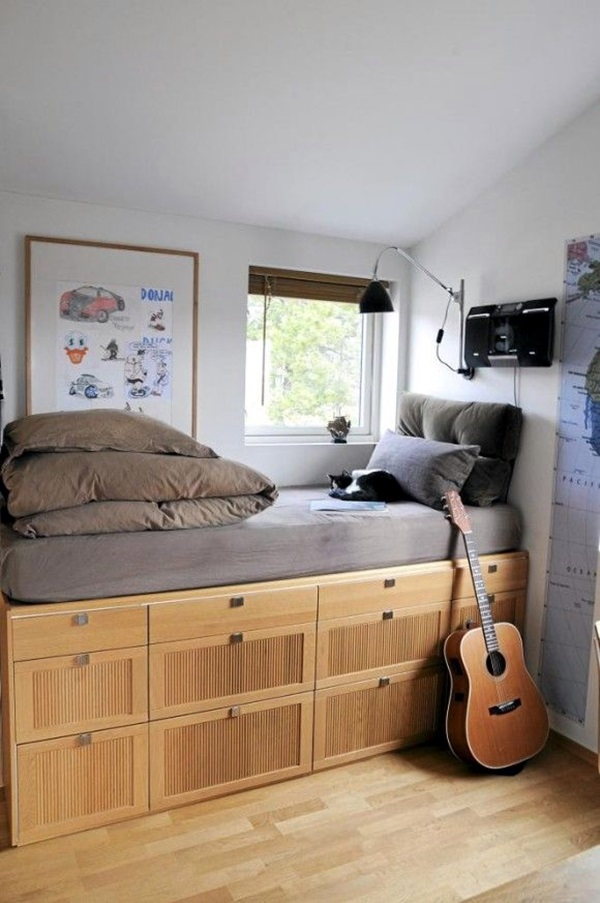 Small Room Decoration Ideas to Make it Work For You (26)