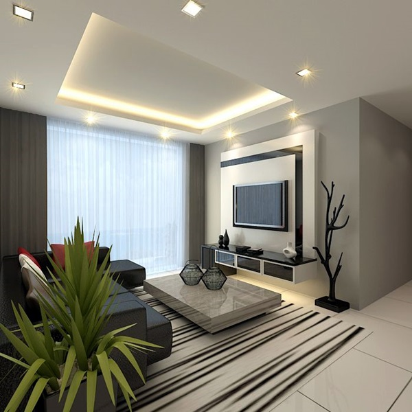 Stunning Modern Living Room Designs (2)