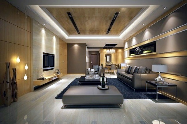 Stunning Modern Living Room Designs (23)