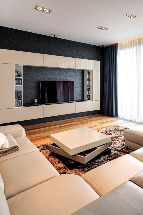 Stunning Modern Living Room Designs (39)