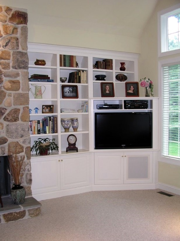 Unique Tv Wall Unit Setup Ideas (12)