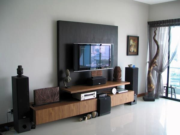 Unique Tv Wall Unit Setup Ideas (15)