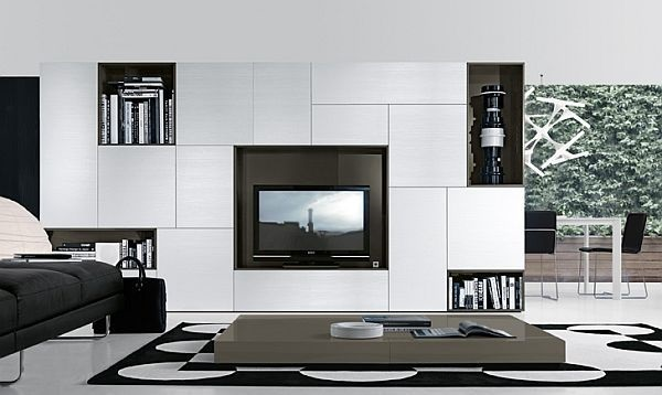 Unique Tv Wall Unit Setup Ideas (16)