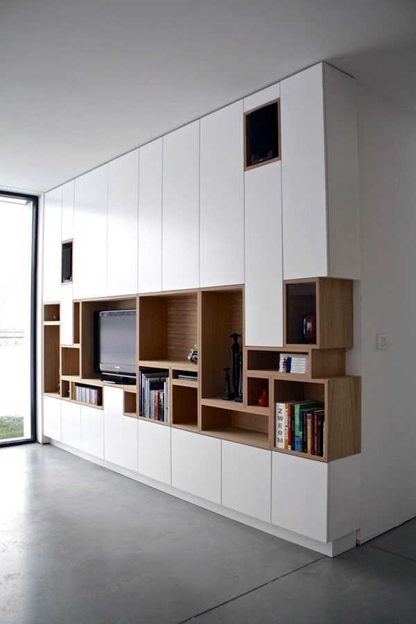 Unique Tv Wall Unit Setup Ideas (17)