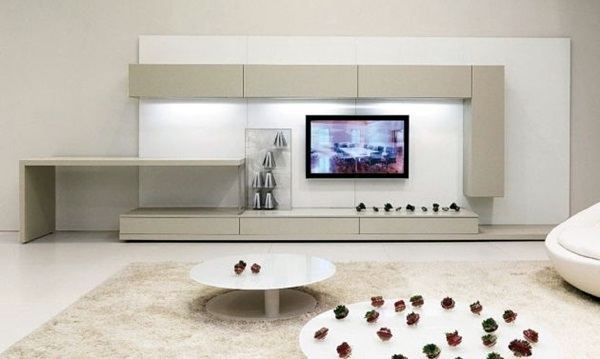 Unique Tv Wall Unit Setup Ideas (18)