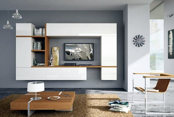 Unique Tv Wall Unit Setup Ideas (19)