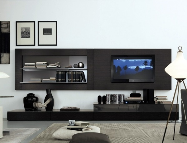 Unique Tv Wall Unit Setup Ideas (2)