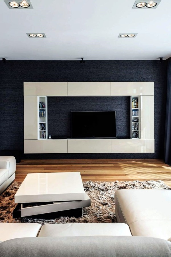 Unique Tv Wall Unit Setup Ideas (21)