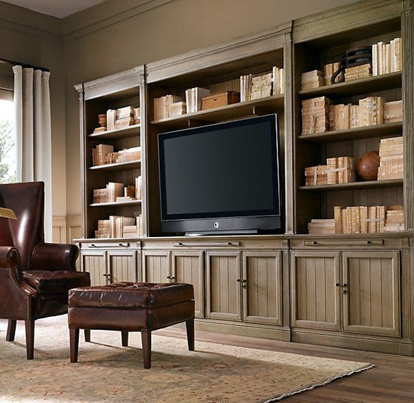 Unique Tv Wall Unit Setup Ideas (24)