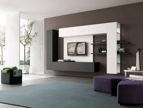 Unique Tv Wall Unit Setup Ideas (26)