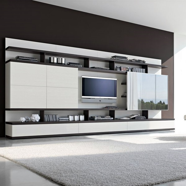 Unique Tv Wall Unit Setup Ideas (27)