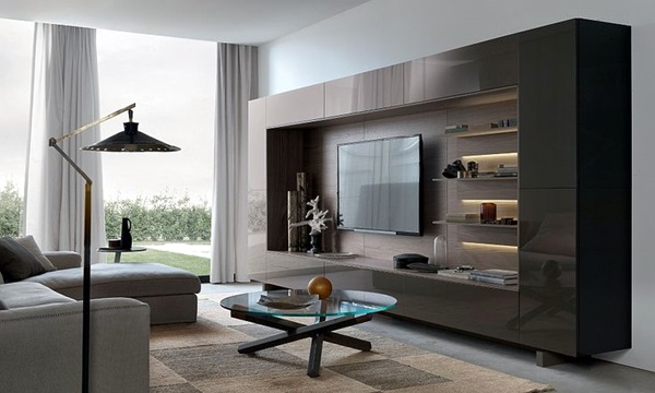Unique Tv Wall Unit Setup Ideas (31)